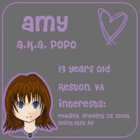 Amy, a.k.a Popo by boredom-and-doodles