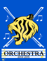 Orchestra T-Shirt Design 2015 by Iza-Azi