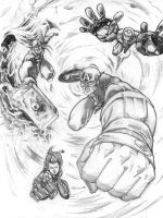 Avengers Attack by Choppic
