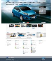 Site Ford New Fiesta by itemb