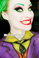 The Joker by MadeULookbylex