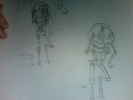 Undead robots by Gmrmnd7