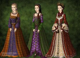 Tudor: Cleves, Howard, Parr by HC-IIIX