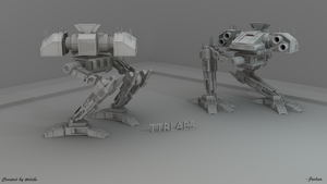 Predator Mech Model by ttrlabs