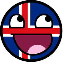 Icelandic Awesome Face by TigerJ15