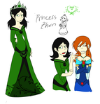Princess THorn by MissBluebee