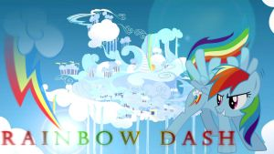 Rainbow Dash Wallpaper by eryk955