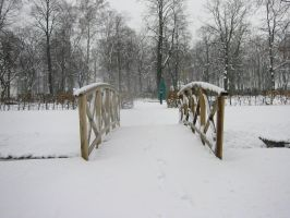 snow bridge 01 by malicia-stock