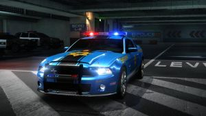 ford GT500 supersnake police. by daz1200