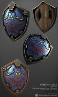 Hylian Shield by beere
