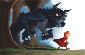 The Big Bad Wolf by BlackArachnid