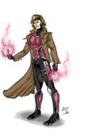 Gambit redesign by x-men-pro