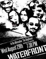 Waterfront Band Poster by Siren2k4