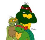 Raph Raphie and Mike colour by VeggieKakababy