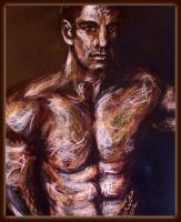 Ares in a series of Mars by Kotwinka