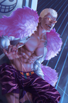 Donquixote Doflamingo by Zenopic