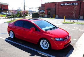 Jorge's 2008 Honda Civic SI by bubzphoto