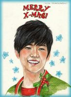 Merry Christmas with Wooyoung!! by UkkiRainbow