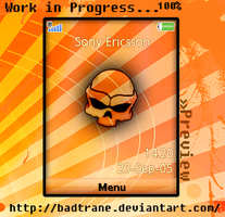 My new theme preview by badtrane