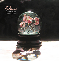 : Japanese Cherry Blossom snowglobe  FOR SALE! : by BastardPrince