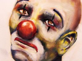 Sad Clown by KaitlynReeser