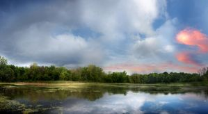 crystal slough summer by hexagonian