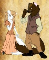 Dwayne and Holly MacAuther by Dark-Crescent-Moon