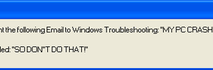 Error MEssage troubleshoot by FLCLover