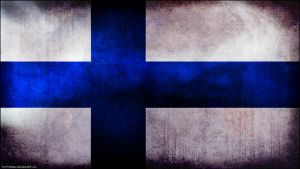 Finland grunge flag wallpaper by The-proffesional