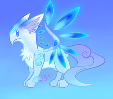 Uncommon Winter Fire Lucernae Adopt! [CLOSED] by NinShroom