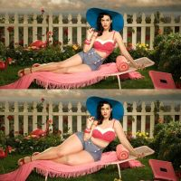 Katy Perry Weight gain morph 2 by gigakirby