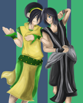 Contest Entry :: Toph and Xion by Kishex-Nevarx