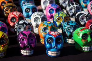 Sugar Skulls by Purplerainn
