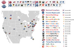 NHL Map  [2013 Update] by The-17th-Man