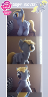Derpy Hooves Plush + Accessories by MintyStitch