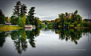 Bracebridge by the River by TallJohn