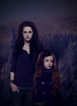 Nessie and Bella by ChuzzMaestose