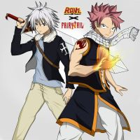 Fairy Tail and Rave Master by Gearfreed