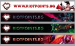 Riot Points BG Banners by ggeorgiev92