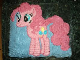 Pinkie Pie Cake by Jay6x