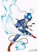 Blue exorcist by Balust