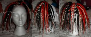 Red, White, Black Hairfalls.. by bad-ass