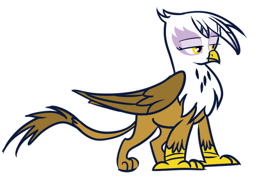 Gilda the Griffon by MisterLolrus