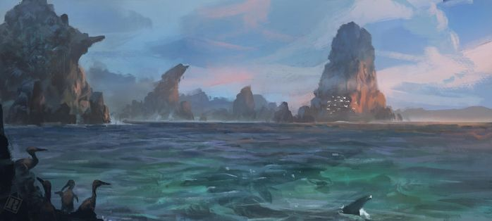 Shallows of the inland sea by Raph04art