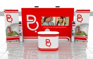 batelco Pop-up stand and roll- by pampilo