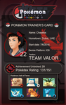 Pokemon Go Trainer's ID by chaxelos
