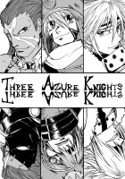 .Hack Three azure knights by ClassicTime
