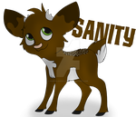[Request-ish] - Sanity by puppylovercuter