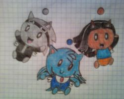 The Chao Team by AliHedgie