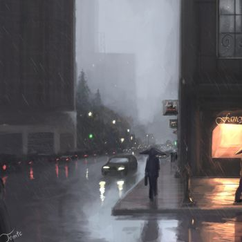 Rainy Day by TomTC